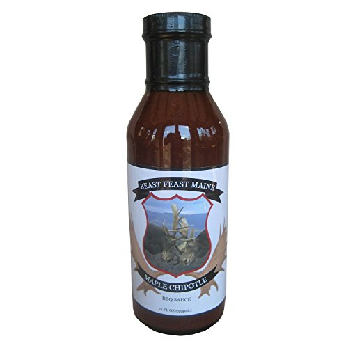 Maple Chipotle BBQ Sauce | Handcrafted All Natural Barbeque Grilling Sauce | Made with Proprietary Worcestershire Sauce and other spices(12 oz) - Chipotle Grilling Sauce