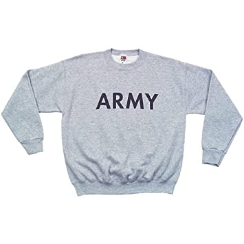 Amazon.com : Fox Outdoor Products Army Crewneck Sweatshirt : Clothing