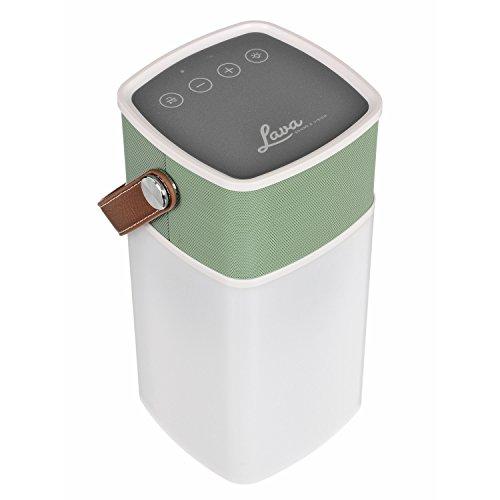 Wireless Garden Speaker With Light in US - 5