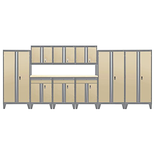 Sandusky Lee GS10-042L Modular Garage Welded Storage System