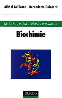 Biochimie par Guilloton
