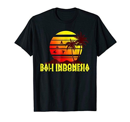 Sunset Vacation Souvenir Tee (Bali Print Shirt)