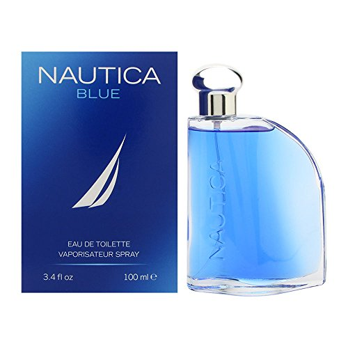 Nautica Blue Eau De Toilette Spray for Men, 3.4 fluid ounce Cologne Spray Men Fragrance