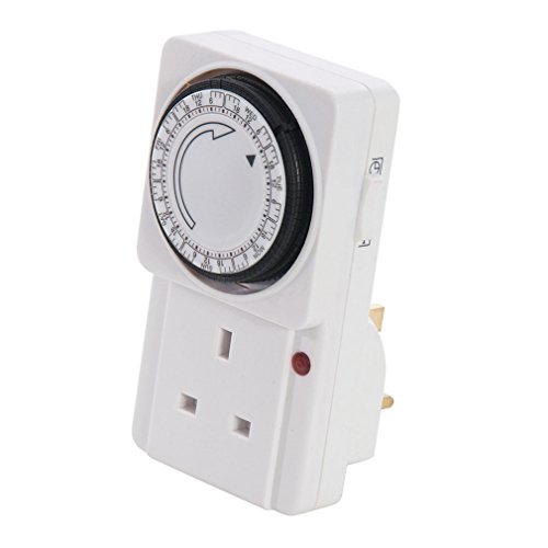 Silverline Plug-In Mechanical Timer 7-day by Silverline