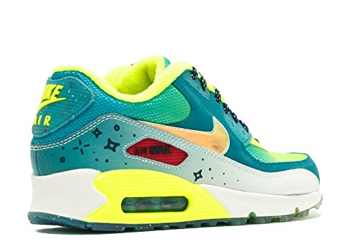 reliable cheap price lowest price cheap online NIKE Wmns Air Max 90 PRM DB Radiant Emerald/Volt-mdnght Tl cheap wide range of cheap for sale CBSy92