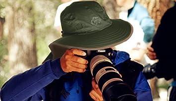 G4Free Unisex-Hut Outdoor-Sonnenschutzkappe Halsklappe mit langem Krempe UV-Schutz UPF 50 Ideal zum Angeln Garten Wandern Jagd