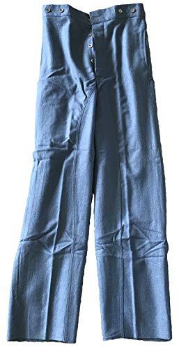 Military Uniform Supply Civil War U.S. Navy Blue Mounted Trousers (32)