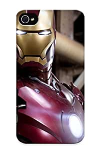 Diy Yourself case, Fashionable iPhone 6 plus 5.5 case cover - Iron Man Movie Poster, Red Robot knFMAJSpi3J Watching