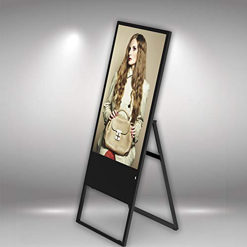 (Free Standing Digital Signage Display Commercial Advertising Led Signs Screen w/HD Video Display - 43 Inch)