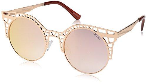 Quay Women's Fleur Sunglasses, Rose/Rose, One - Fleur Sunglasses
