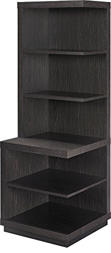 Pier Storage Media (Ameriwood Home Fremont Audio Stand/Bookcase, Espresso)