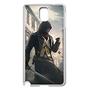 Assassin'S Creed Unity Samsung Galaxy Note 3 Cell Phone Case White yyfabc_165598
