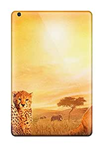 New Style Cute High Quality Ipad Mini 2 African Cats Case