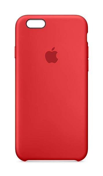 Apple Custodia in silicone (per iPhone 6s) - Rosso