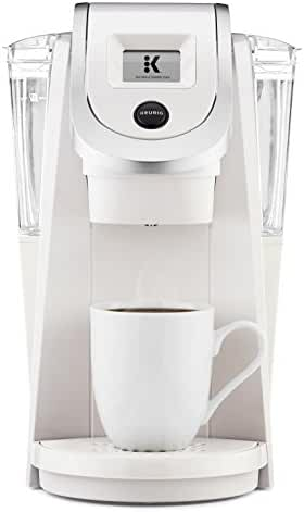 Keurig K250 Single Serve, Programmable K-Cup Pod Coffee Maker with strength control, Sandy Pearl