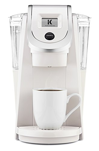 Keurig K250 Single Serve, Programmable K-Cup Pod Coffee Maker with strength control, Sandy Pearl (Keurig Coffee Maker And Carafe)