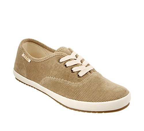 - Taos Footwear Women's Guest Star Khaki Cord Canvas Fashion Sneaker 7 M US