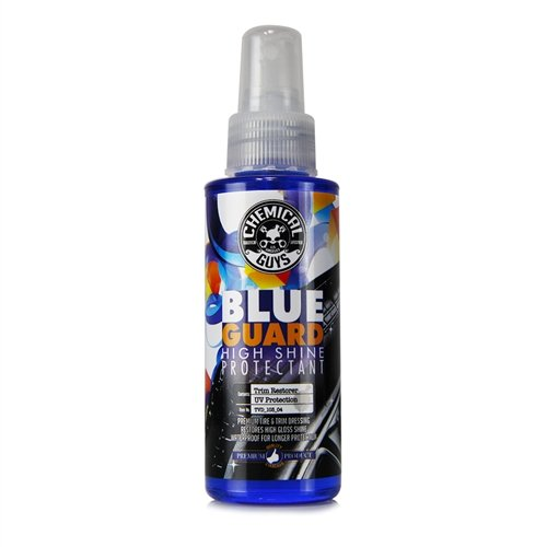Chemical Guys TVD_103_04 Blue Guard II Wet Look Premium Sprayable High Gloss Shine Dressing and Conditioner for Rubber and Plastic (4 oz)
