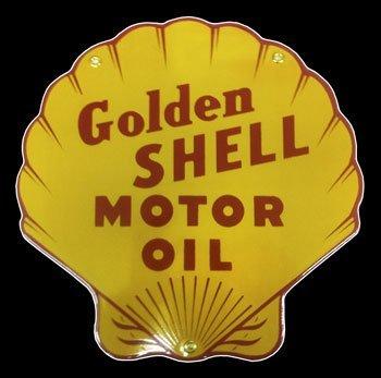 Shell Motor Oil Porcelain Sign