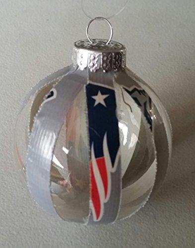 New England Patriots Christmas Ball Ornament Superbowl LII 52