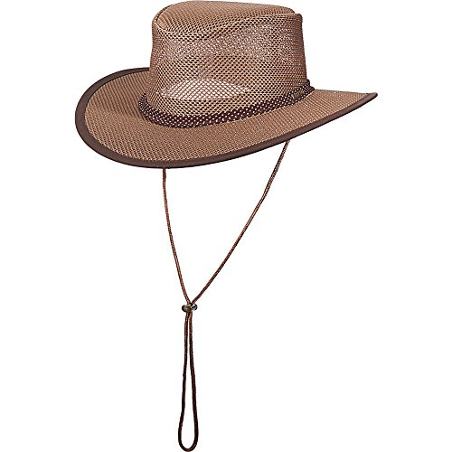 Stetson Men's Mesh Covered Hat, Walnut Large