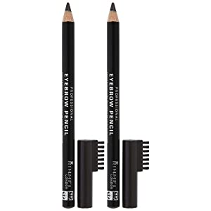 Rimmel London Professional Eyebrow Pencil - Black/Brown - 2 pk