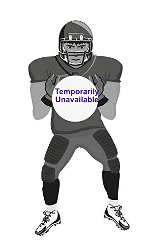 Inflatable Two Sided Football & Baseball Target Set - Includes One Inflatable 5 Foot Tall Target (Football Player on one side and Baseball Catcher on 2nd Side), a Soft Mini Football and Mini Baseball]()