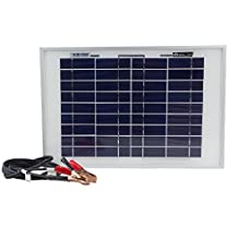 10 Watt Polycrystalline Solar Panel Charger for Deep Cycle Battery - Mighty Max Battery brand product