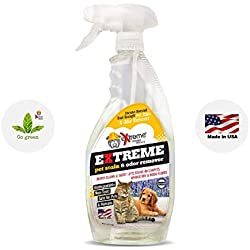 Extreme Consumer Products Lavender Scented Pet Odor Eliminator - Professional Strength All Natural Pet Stain and Odor Remover - 1 Pack (22oz)