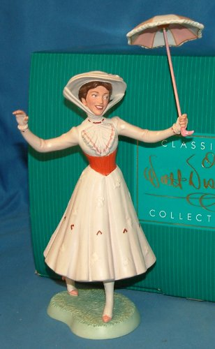 "WDCC ""It's a Jolly Holiday With Mary"" Mary Poppins Figurine"