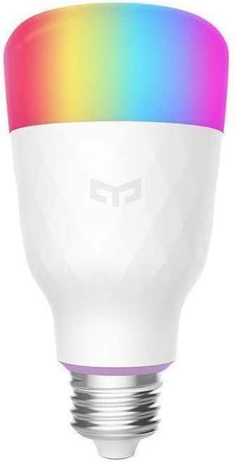 مصباح ييلايت ليد ذكي ملوّن من شاومي بشدة 800 لومن وبقدرة 10 واط مقاس اي 27