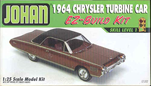 Johan 1964 Chrysler Turbine Car EZ-Build 1/25 Model Kit