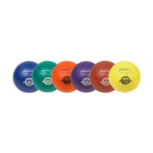 Champion Sports Rhino Skin Playground Ball - Set of 6, 8.5-inch
