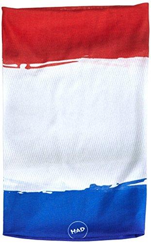 HAD Écharpe multifonction adultes d'origine France, rouge/blanc/bleu, One Size, HA110–0584