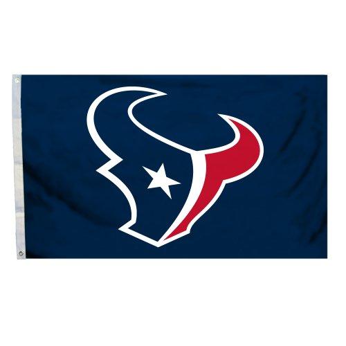 NFL Houston Texans 3 x 5-Feet Flag with Grommets