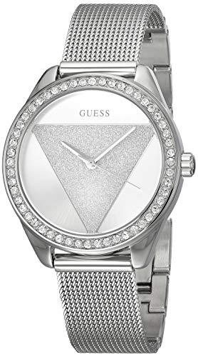 Guess Womens Analogue Classic Quartz Watch with Stainless Steel Strap W1142L1