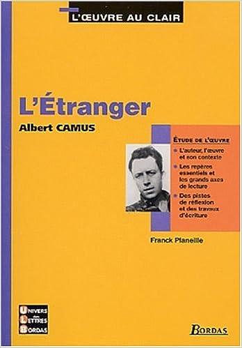 Livre gratuits en ligne 6 - U.L.B. ETUDE L' ETRANGER    (Ancienne Edition) pdf