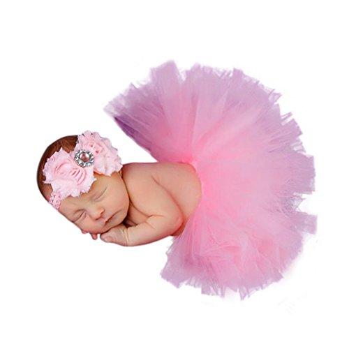 YJM Cute Newborn Baby Girls Boys Costume Photography Prop Clothes (Pink (Buy Oktoberfest Costumes)