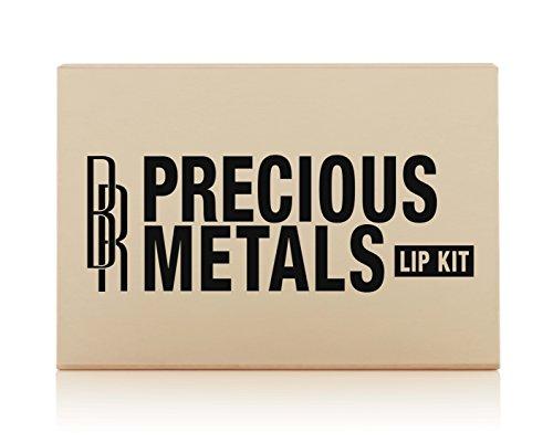 Black Radiance Precious Metals Lip Kit - Rose Gold, Bronze, and Copper ()
