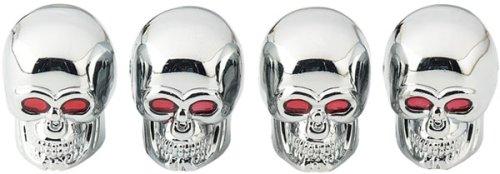 UPC 076027355140, Bell Automotive Products Valve Caps/Skull (35514-1)