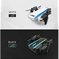 Fineser JJRC H345 Dual-Aircraft Combination Micro Foldable Drone Quadcopter Set RC Drone with One Key Start,One Key Landing,Headless Mode,Return to Home(2 Piece Drones Include)