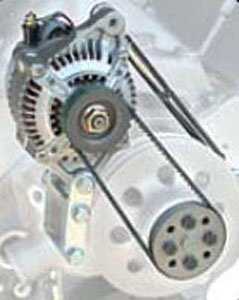 Powermaster 8-802 High Mount Alternator Kit