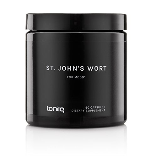 Elevated St John's Wort Extract by Toniiq with 0.3% Standardized Hypericins | Superior St. Johns Wort for Mood Support and Enhancement