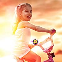 Jackallo Campana de Bicicleta de Girasol Campanas de Bicicleta para Ni/ños Regalos para Ni/ños Bonito Anillo de Bicicleta para Ni/ños Ni/ños Ni/ñas