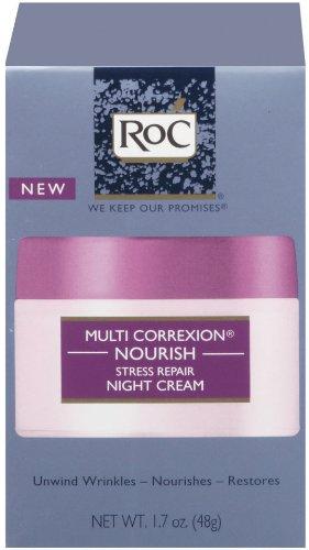 RoC multi CORREXION stress réparation Crème de Nuit, 1,7 once