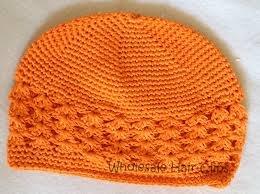 bb1d403d8bc27 Amazon.com  Knit Kufi Hat - Koopy Cap - Crochet Beanie (Orange)  Beauty