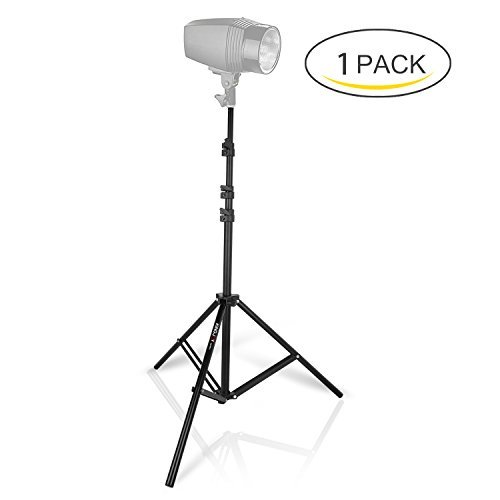 """Photography Light Stands, 7ft/86"""" Air-Cushioned Professional Photo Studio Light Stand for Studio Softbox Umbrellas Backgrounds HTC Vive Reflector etc. by Kamisafe"""