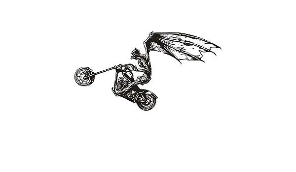 mlpnko Etiqueta engomada de la Motocicleta Coche Bat Apliques ...