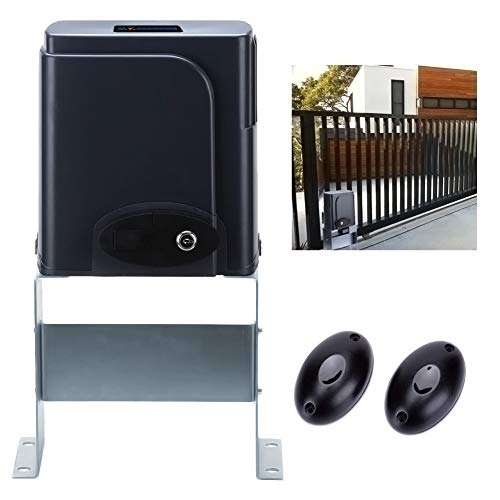 G.T.Master Sliding Automatic Gate Operator Kit - Driveway Security Gate Opener Hardware Kit with Two Transmitters and Infrared Photocell Sensor for Sliding Gates up to 1300lb and 27ft Long (GT1300) ()