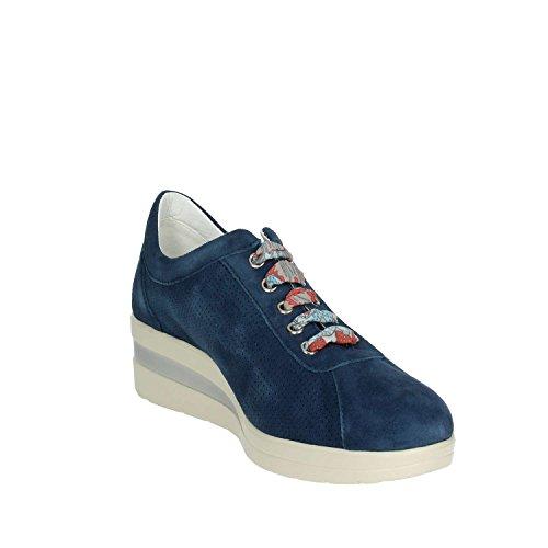 blu Bassi Sneakers 002 Iv5757 Cinzia Donne Morbido aw7qnU8